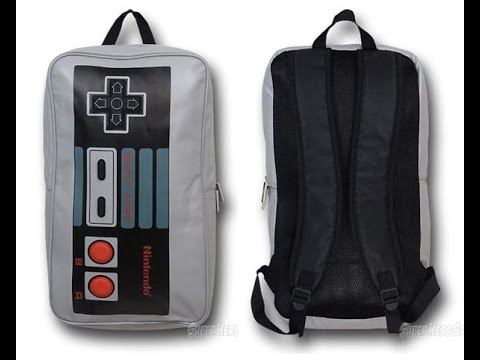 Nintendo Entertainment System Backpack Review - YouTube 8024ad4220062