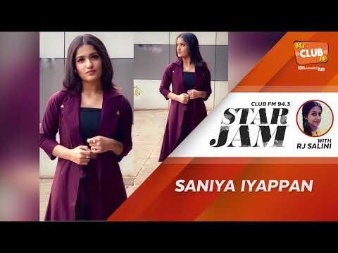 Saniya Iyappan - RJ Salini - Star Jam - CLUB FM 94.3