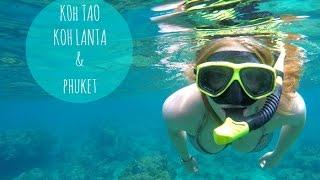 Krank in Asien?! Thailand 5/15 (Koh Tao, Koh Lanta + Phuket)