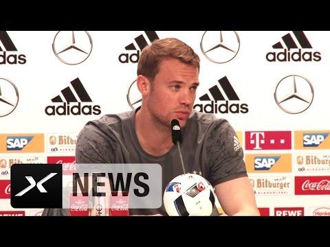 Manuel Neuer schwärmt von Benedikt Höwedes | Fußball-EM 2016 in Frankreich