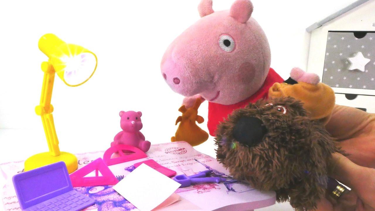 Свинка пеппа обкакали в школе