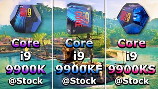 Core i9 9900K vs Core i9 9900KF vs Core i9 9900KS | PC Gameplay Benchmark Test in 1080p and 1440p