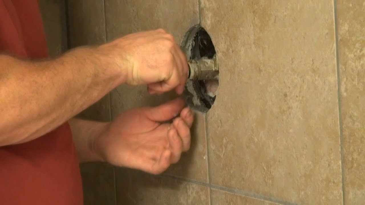 Moen Posi temp shower valve hard to turn fixed dirt cheap - YouTube