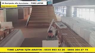 Time lapse - 30 saniyede ofis nasıl kurulur? - İKM Prodüksiyon