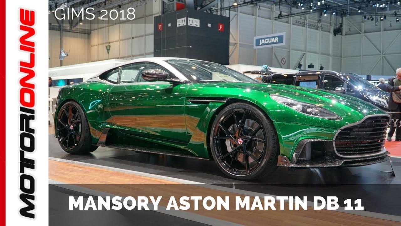 Mansory Aston Martin Db11 Live Gims 2018 Youtube