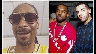 Snoop Dogg Roast Kanye After Finding Draked Smashed Kim Kardashian! Keke?