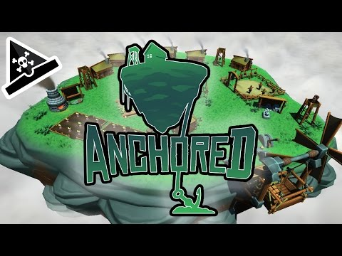 SURVIVAL RTS! Anchored - New Game of Surviving on a Floating Island! Anchored Gameplay