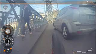 Ponte D. Luís - Porto. Quase Atropelado