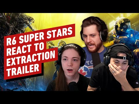 Download Rainbow Six Stars React to Extraction Reveal Trailer (w/ KiXSTAR, Interro & Coconut Brah)