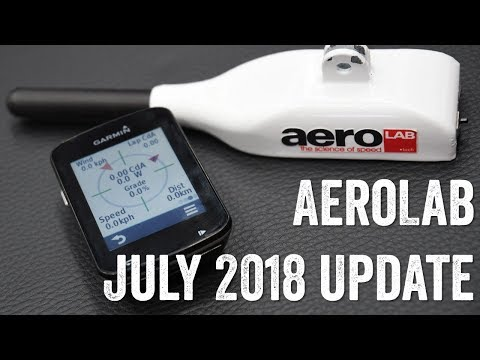 AeroLab Cycling Sensor: July 2018 Tech Update