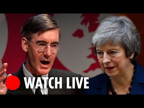 Jacob Rees-Mogg expected to speak about May's Brexit deal