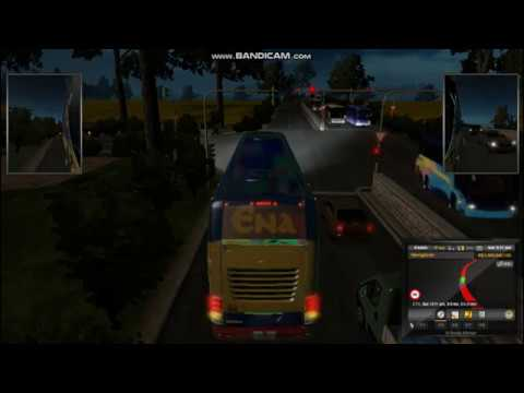 Euro Truck Simulator 2 Dhaka to Chittagong by ENA Bus