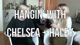 PART 2: Hangin' Out with Chelsea + Haley: Sorta Favorites | chelsea wears