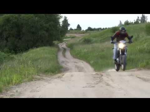 Derbi Senda 125 SM Riding Movie