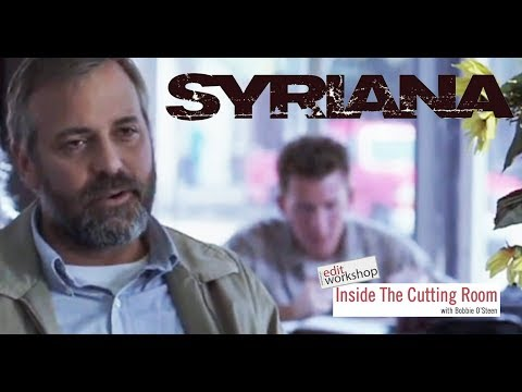 """Editor Tim Squyres, ACE Discusses Motivation for Making Cuts Using Examples from """"Syriana"""""""
