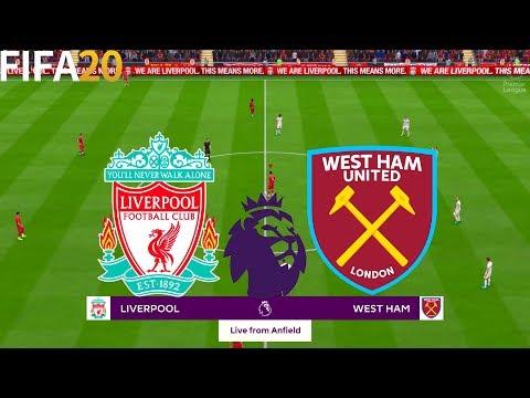 FIFA 20 | Liverpool Vs West Ham United - Premier League - Full Match & Gameplay