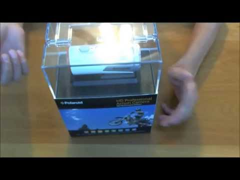 Polaroid XS100 Extreme Edition HD 1080p Action Cam Unbox/Review