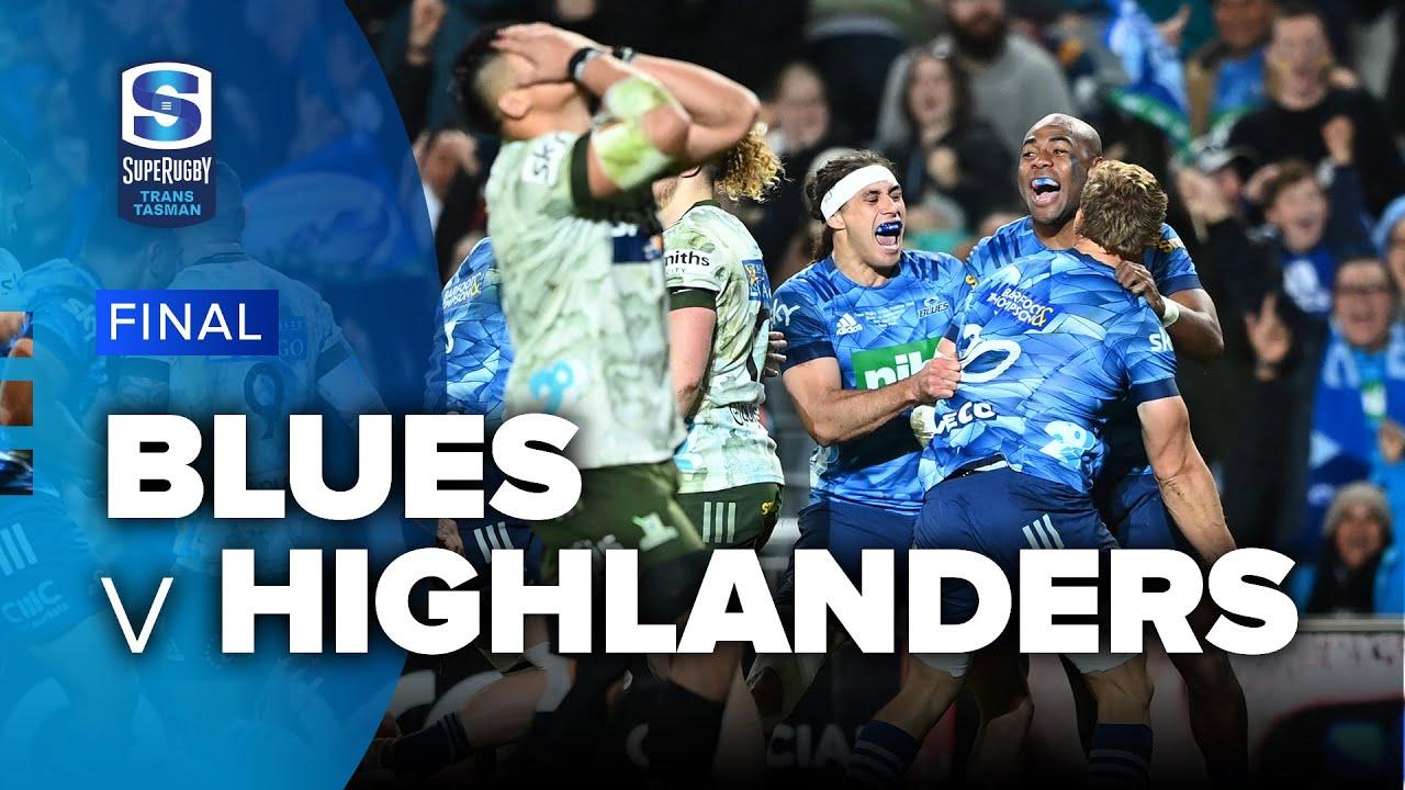 Download Super Rugby Trans Tasman | Blues v Highlanders - Final Highlights