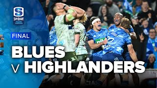 Super Rugby Trans Tasman   Blues v Highlanders - Final Highlights