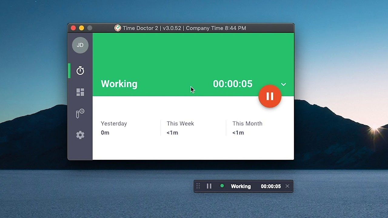 Using Time Doctor Desktop App