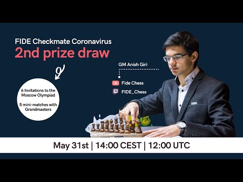 Checkmate Coronavirus with Anish Giri | Prize Draw |