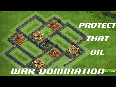 Enlightenment Age Farming Base / Protect That Oil - War DomiNation's Base Creation 1