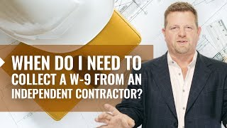 When To Collect a W-9 From an Independent Contractor? -  W 9 Form (EXPLAINED)