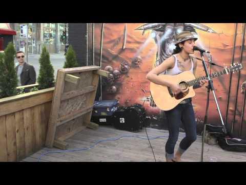 Jenn Fiorentino performing Generation Lost [RISE AGAINST]