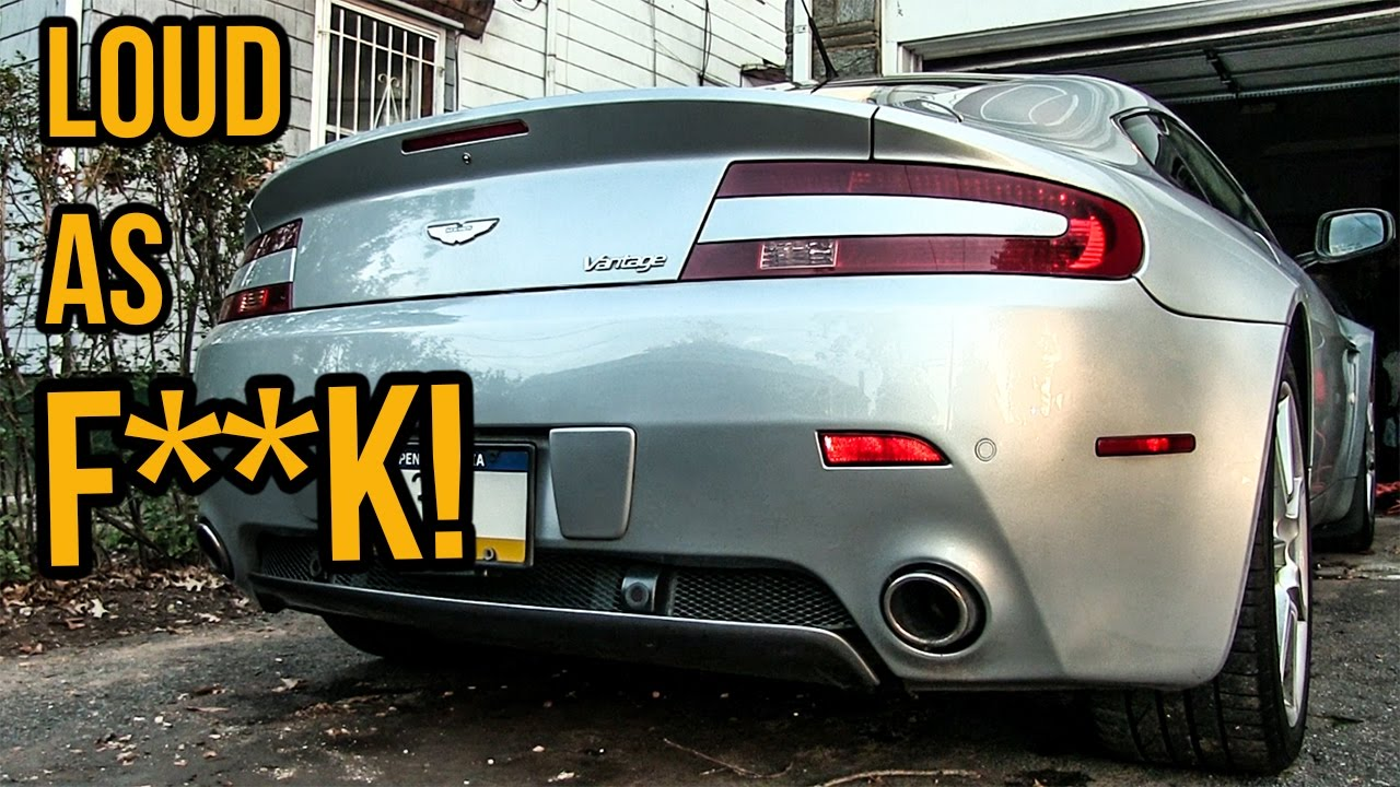 Here's How I Made My Aston Martin V8 Vantage Sound Ten Times