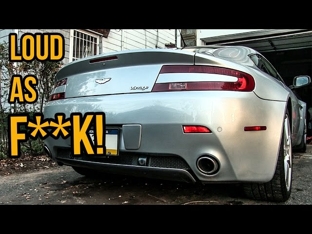 sddefault 404_is_fine here's how i made my aston martin v8 vantage sound ten times better