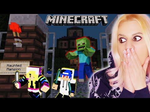 Επιβίωση στην ΣΤΟΙΧΕΙΩΜΕΝΗ ΕΠΑΥΛΗ -Αντέξαμε τελικά? Minecraft Let's Play Kristina @Famous Games