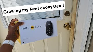 Nest x Yale Smart Lock | Unboxing & Quick Look