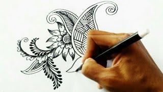 Inspirasi Keren, Menggambar Bunga Ornamen Dengan Mudah