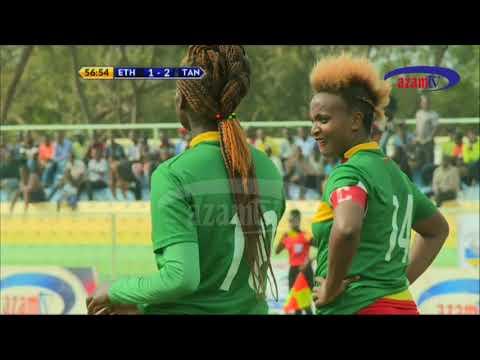 CECAFA WOMEN 2018: ETHIOPIA 1 VS 4 TANZANIA (Goals/Ibitego).