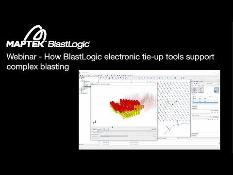 Webinar: How BlastLogic electronic tie-up tools support complex blasting
