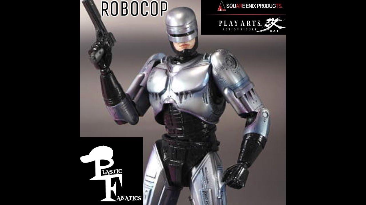 Play Arts Kai Robocop 1987 Review Youtube