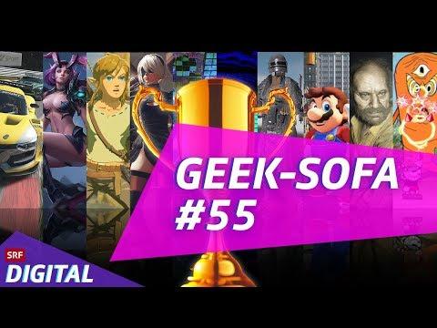 Geek-Sofa #55: Die besten Games 2017
