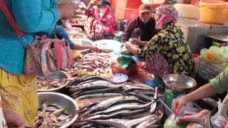 Samki Market at Kampot Province