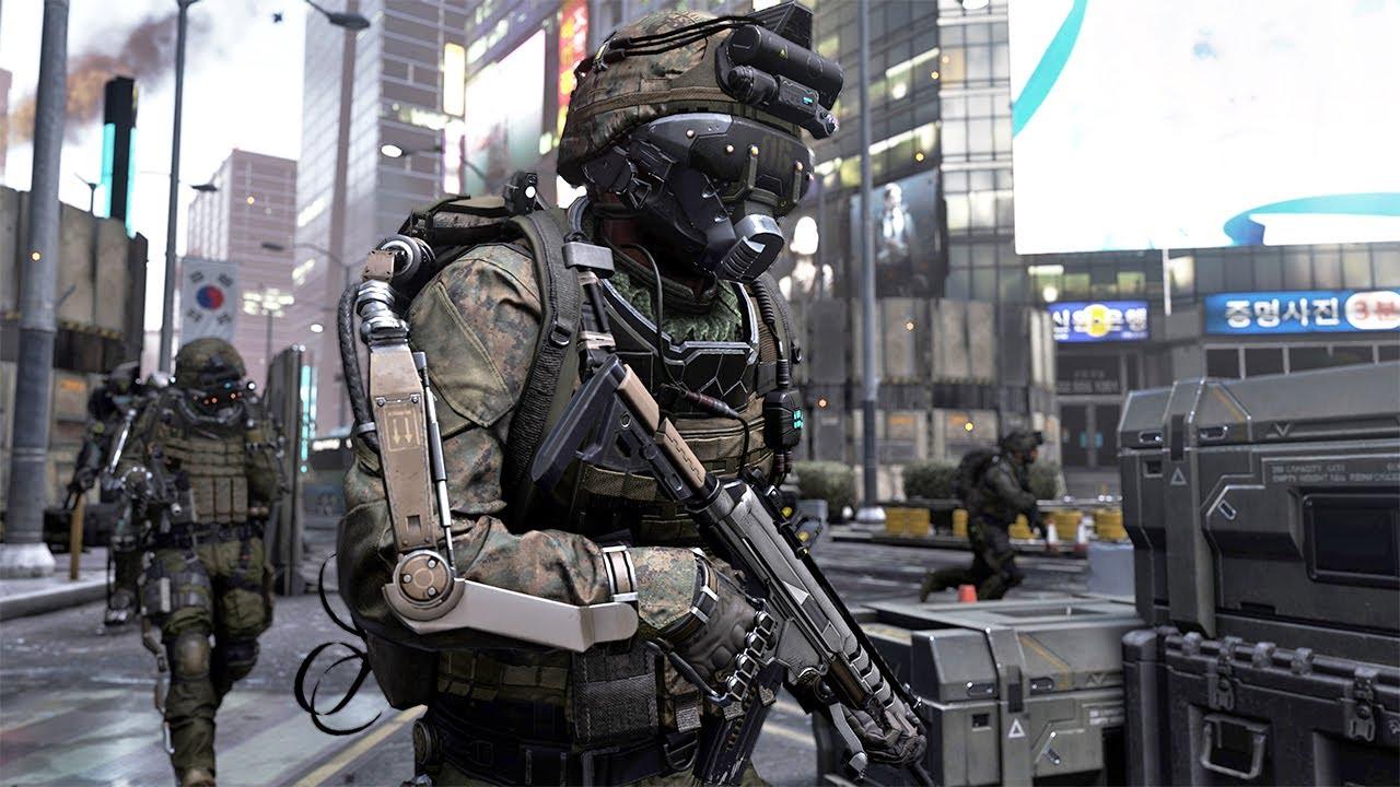 "[FR] Call of duty Advanced Warfare Gameplay ""behind the ..."