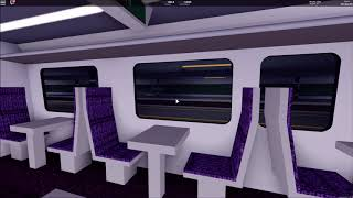 Roblox: Stepford County Railway: Trip Report | Stepford Central to AT 3 | Class 185 First Class