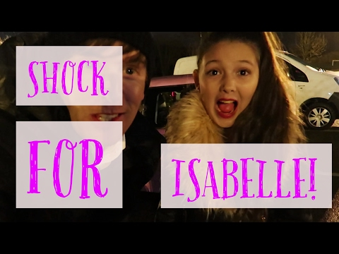 A SHOCK FOR ISABELLE!