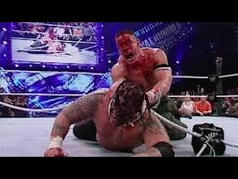 JOHN CENA VS UMAGA Most Bloodiest Match WWE No Mercy 2007 FU