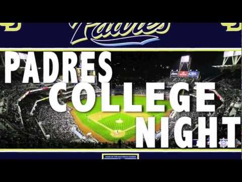 PADRES COLLEGE NIGHT---Video/Photos Credit: B.Griffin