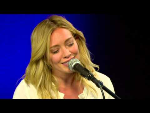 Hilary Duff Performs All About You (Acoustic)