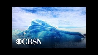 Greenland experiences severe ice melting