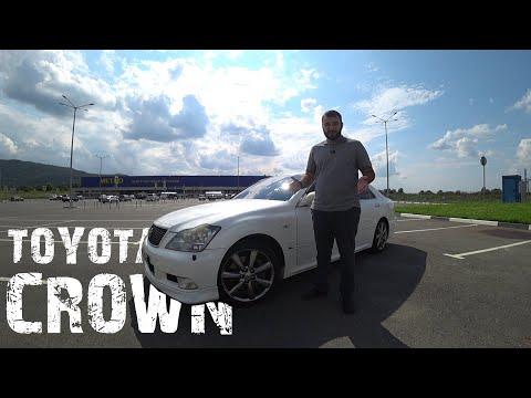 Такой могла быть Camry. Обзор Toyota Crown Athlete.