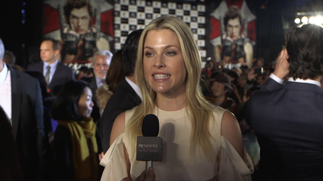 Resident Evil The Final Chapter Interview: ALI LARTER Interview Tokyo Premiere Resident Evil The