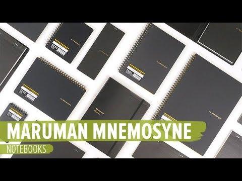 Maruman Mnemosyne Notebooks