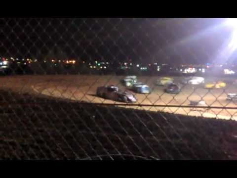 Texas Thunder Speedway March 17, 2012 IMCA Modified Feature WIN #1 For Kenny Stone