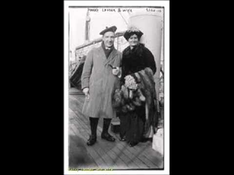 Harry Lauder - She's the Lassie For Me (1913)